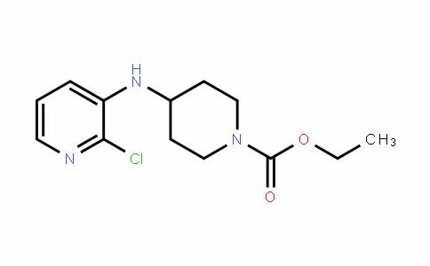 ethyl 4-(2-chloropyridin-3-ylamino)piperidine-1-carboxylate