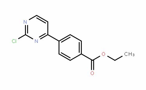 ethyl 4-(2-chloropyrimidin-4-yl)benzoate
