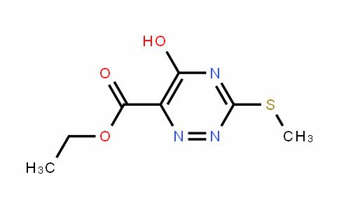 甲酸乙酯5-羟基-3-(甲硫基)-1,2,4-三嗪-6-羧酸