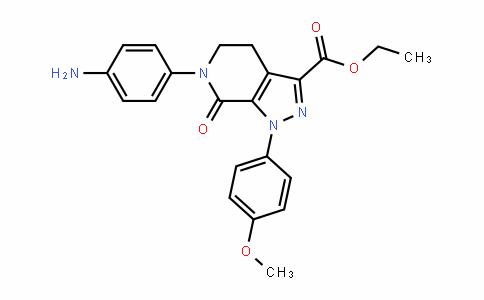 1-(4-甲氧基苯基)-7-氧代-6-[4-(2-氧代哌啶-1-基)苯基]-4,5,6,7-四氢-1H-吡唑并[3,4-C]吡啶-3-羧酸乙酯
