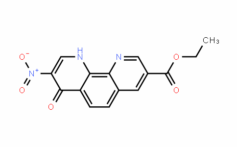ethyl 8-nitro-7-oxo-7,10-dihydro-1,10-phenanthroline-3-carboxylate