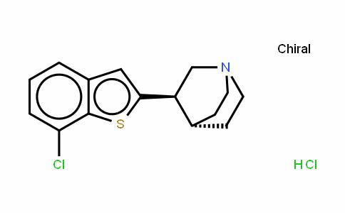 EVP-6124 (hydrochloride)