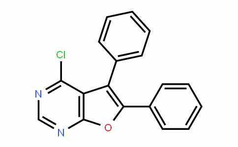 Furo[2,3-d]pyrimidine, 4-chloro-5,6-diphenyl-