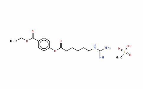 甲磺酸加贝酯