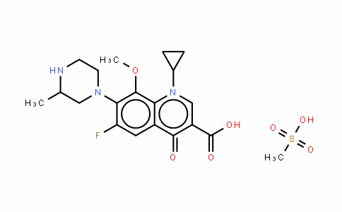 Gatifloxacin (mesylate)