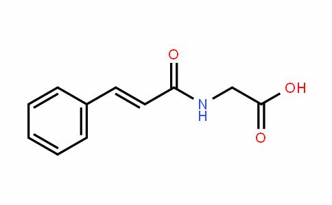 Glycine, N-(1-oxo-3-phenyl-2-propen-1-yl)-