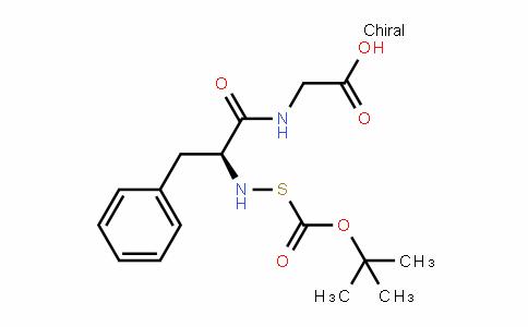 Glycine, N-[(1,1-diMethylethoxy)carbonyl]thio-L-phenylalanyl-