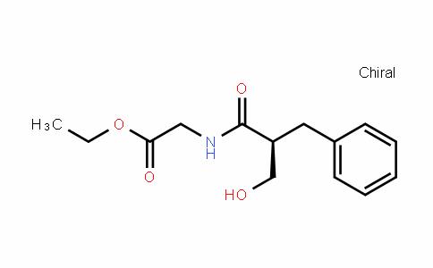 Glycine, N-[(2S)-2-(hydroxymethyl)-1-oxo-3-phenylpropyl]-, ethyl ester