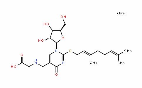 Glycine, N-[[2-[[(2E)-3,7-diMethyl-2,6-octadien-1-yl]thio]-1,4-dihydro-4-oxo-1-β-D-ribofuranosyl-5-pyriMidinyl]Methyl]-