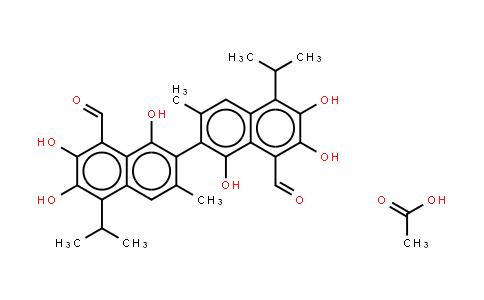 Gossypol (acetic acid)