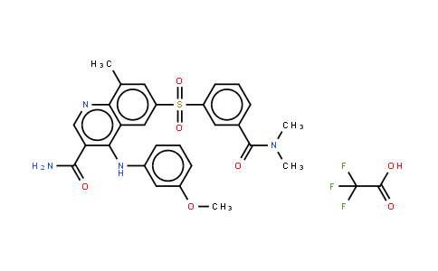 GSK256066 (2,2,2-trifluoroacetic acid)
