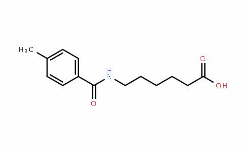 Hexanoic acid, 6-[(4-methylbenzoyl)amino]-