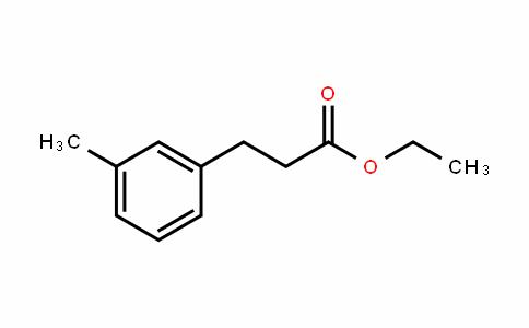 Hydrocinnamic acid, m-methyl-, ethyl ester