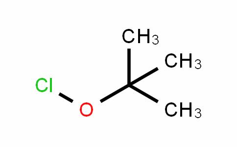 Hypochlorous acid, 1,1-diMethylethyl ester