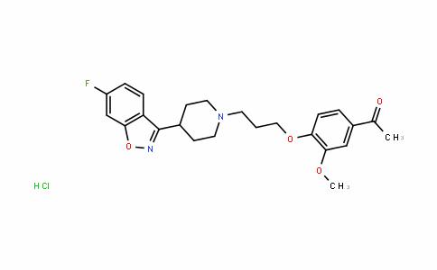 Iloperidone (hydrochloride)