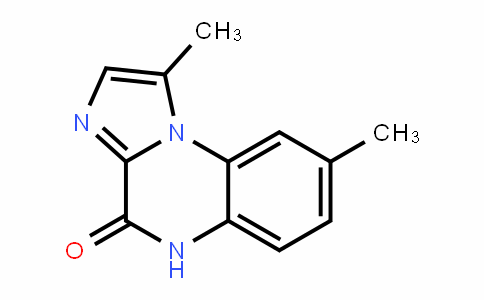 Imidazo[1,2-a]quinoxalin-4(5H)-one, 1,8-dimethyl-