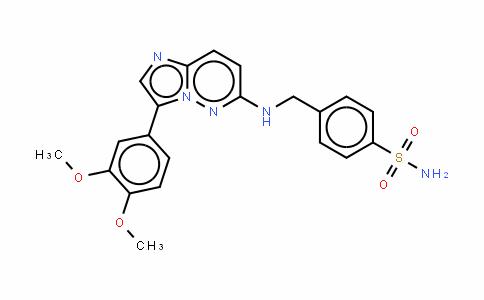 4-[[[3-(3,4-二甲氧基苯基)咪唑并[1,2-b]哒嗪-6-基]氨基]甲基]苯磺酰胺