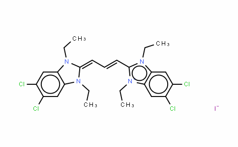 5,5',6,6'-四氯-1,1',3,3'-四乙基苯并咪唑羰花青碘化物
