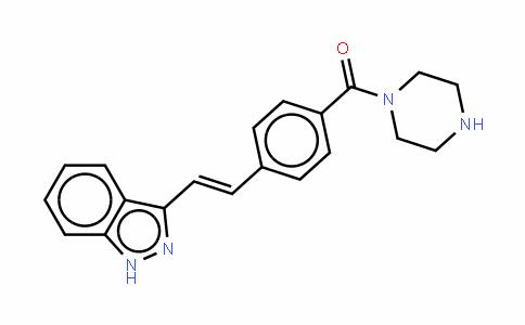 [4-[2-(1H-吲唑-3-基)乙烯基]苯基]-1-哌嗪基甲酮
