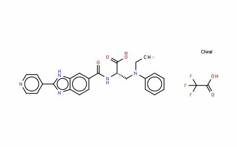 L-Alanine, 3-(ethylphenylaMino)-N-[[2-(4-pyridinyl)-1H-benziMidazol-6-yl]carbonyl]-, CF3COOH salt