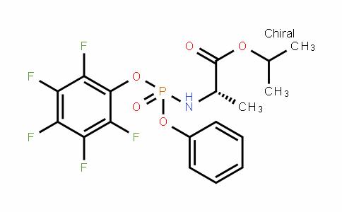 N-[(R)-(2,3,4,5,6-五氟苯氧基)苯氧基亚膦酰基]-L-丙氨酸异丙酯