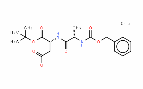 L-Aspartic acid, N-[(phenylmethoxy)carbonyl]-L-alanyl-, 24-(1,1-dimethylethyl) ester (9CI)