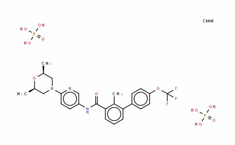 LDE225 (Diphosphate)