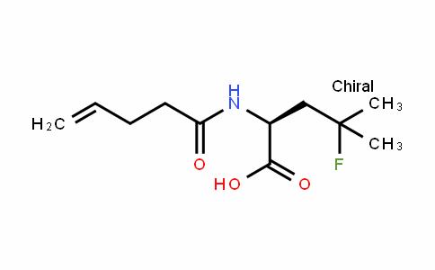 Leucine, 4-fluoro-N-(1-oxo-4-pentenyl)-