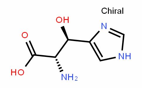 L-Histidine, β-hydroxy-, (βR)- (9CI)