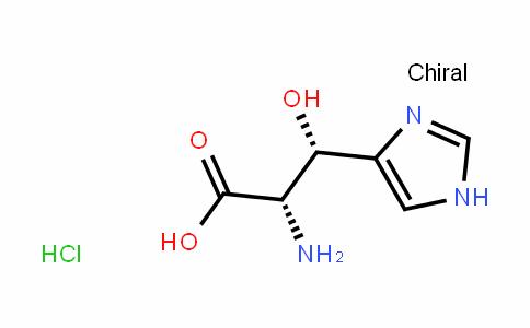 L-Histidine, β-hydroxy-, Monohydrochloride, (βS)- (9CI)