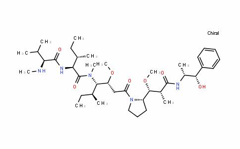 L-IsoleucinaMide, N-Methyl-L-valyl-N-[(1S,2R)-4-[(2S)-2-[(1R,2R)-3-[[(1R,2S)-2-hydroxy-1-Methyl-2-phenylethyl]aMino]-1-Methoxy-2-Methyl-3-oxopropyl]-1-pyrrolidinyl]-2-Methoxy-1-[(1S)-1-Methylpropyl]-4-oxobutyl]-N-Methyl- (9CI)