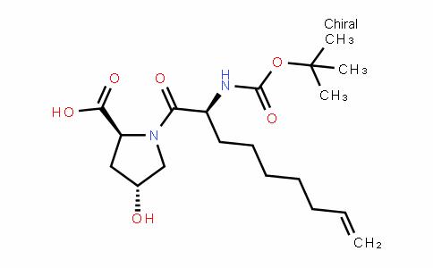 L-Proline, 1-[(2S)-2-[[(1,1-dimethylethoxy)carbonyl]amino]-1-oxo-8-nonen-1-yl]-4-hydroxy-, (4R)-