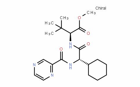 (2S)-2-环己基-N-(2-吡嗪基羰基)甘氨酰-3-甲基-L-缬氨酸甲酯
