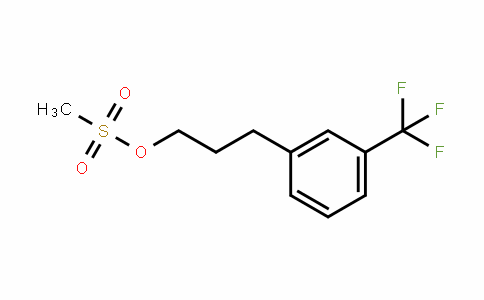 Methanesulfonic acid 3-(3-trifluoromethylphenyl)propyl ester