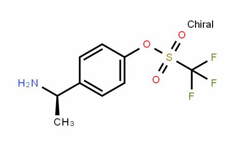 Methanesulfonic acid, 1,1,1-trifluoro-, 4-[(1R)-1-aMinoethyl]phenyl ester