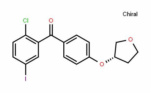 Methanone, (2-chloro-5-iodophenyl)[4-[[(3S)-tetrahydro-3-furanyl]oxy]phenyl]-