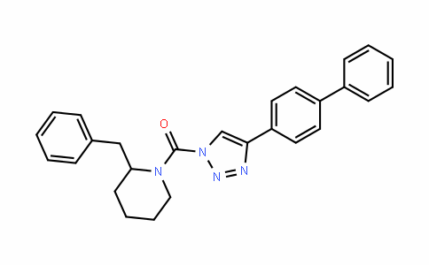 Methanone, (4-[1,1'-biphenyl]-4-yl-1H-1,2,3-triazol-1-yl)[2-(phenylMethyl)-1-piperidinyl]-