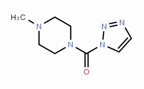 Methanone, (4-Methyl-1-piperazinyl)-1H-1,2,3-triazol-1-yl-