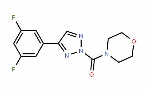 Methanone, [4-(3,5-difluorophenyl)-2H-1,2,3-triazol-2-yl]-4-Morpholinyl-