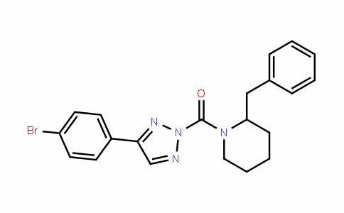 Methanone, [4-(4-broMophenyl)-2H-1,2,3-triazol-2-yl][2-(phenylMethyl)-1-piperidinyl]-