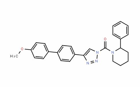 Methanone, [4-(4'-Methoxy[1,1'-biphenyl]-4-yl)-1H-1,2,3-triazol-1-yl](2-phenyl-1-piperidinyl)-