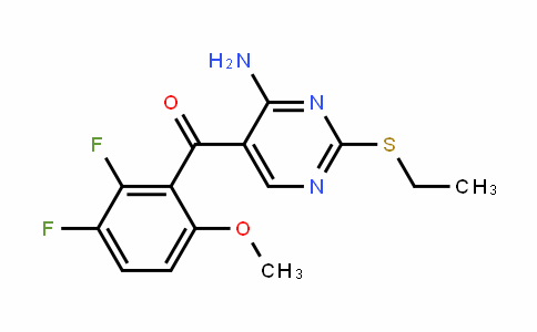 Methanone, [4-amino-2-(ethylthio)-5-pyrimidinyl](2,3-difluoro-6-methoxyphenyl)-