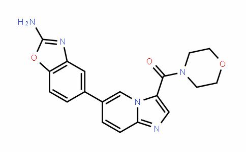 Methanone, [6-(2-aMino-5-benzoxazolyl)iMidazo[1,2-a]pyridin-3-yl]-4-Morpholinyl-