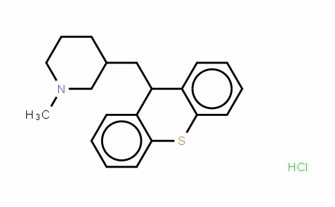 1-甲基-3-(9H-硫杂蒽-9-甲基)哌啶盐酸盐美噻吨盐酸盐