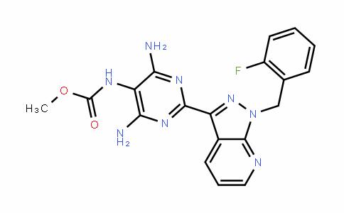 Methyl [4,6-diamino-2-[1-(2-fluorobenzyl)-1H-pyrazolo[3,4-b]pyridin-3-yl]pyrimidin-5-yl]carbamate