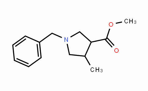 methyl 1-benzyl-4-methylpyrrolidine-3-carboxylate