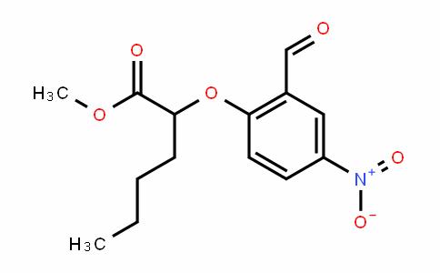 methyl 2-(2-formyl-4-nitrophenoxy)hexanoate