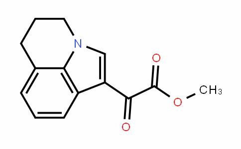 methyl 2-(5,6-dihydro-4H-pyrrolo[3,2,1-ij]quinolin-1-yl)-2-oxoacetate