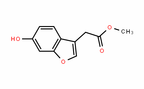 methyl 2-(6-hydroxybenzofuran-3-yl)acetate