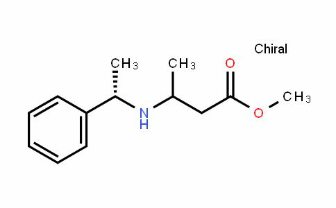 methyl 3-((S)-1-phenylethylamino)butanoate